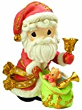 """Precious Moments """"May Your Christmas Ring With Joy"""" Figurine"""