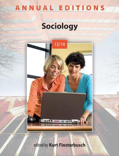 Annual Editions: Sociology 13/14