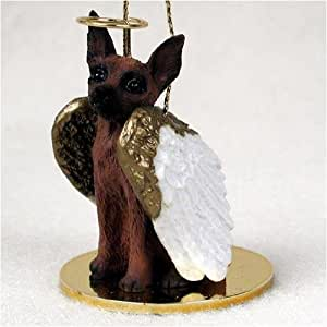 Amazon.com : Miniature Pinscher, Red/Brown Tiny Ones Dog Angels (2 in