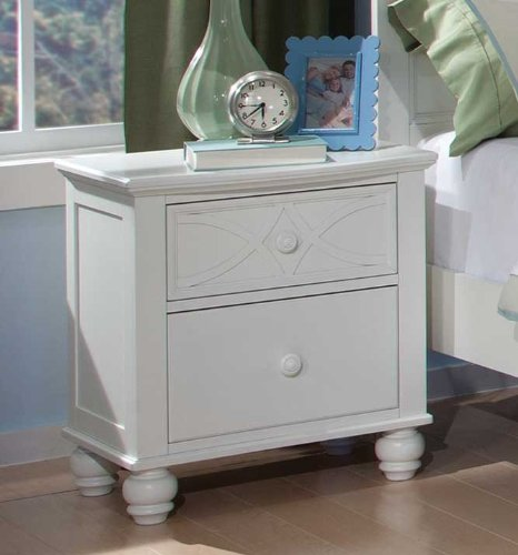 Sanibel Nightstand By Homelegance In White front-801572