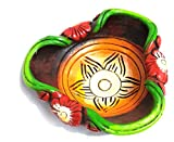 Indeasia Srijan terracotta floating candle/Flower/Potpourri bowl