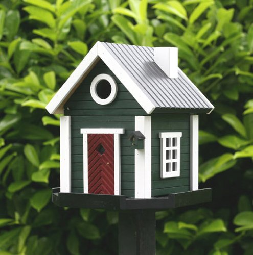 Green Cottage Multiholk Bird House or Bird Feeder