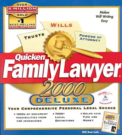 Quicken Family Lawyer 2000 Deluxe