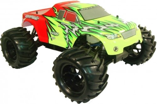 RC Nitro Cars Remote Radio Controlled Fast Nitro Monster Truck 1:8 Scale Bruiser 6201