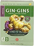 Ginger People Gin Gins Chewy Ginger Candy - 4.5 oz