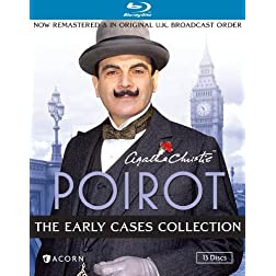 Agatha Christie's Poirot: The Early Cases [Blu-ray]