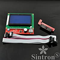 [Sintron] LCD 12864 Graphic Smart Display Controller for RepRap RAMPS 1.4 3D Printer Mendel Prusa Arduino Mega Pololu Shield Arduino RepRap from Sintron