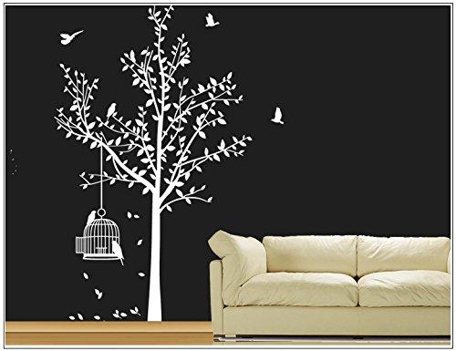 sticker-mural-arbre-oiseau-branches-vrille-salle-de-sejour-40-couleurs-pour-le-choixvogelbauer-wbm35