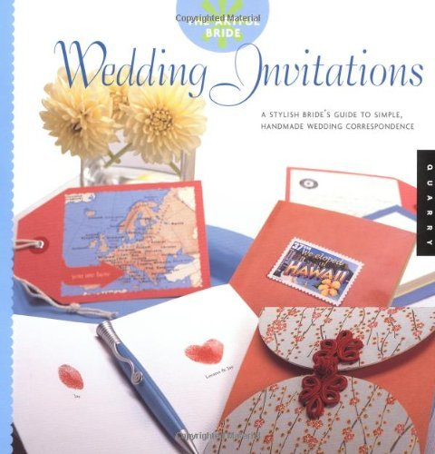 The Artful Bride: Wedding Invitations: A Stylish Bride's Guide to Simple, Handmade Wedding Correspondence