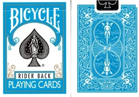 Bicycle Turquoise Back Playing Cards - Poker Size - 1