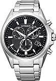 [シチズン]CITIZEN 腕時計 ATTESA アテッサ エコ・ドライブ電波時計 クロノグラフ AT3050-51E メンズ