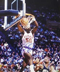 Ralph Sampson Autographed Hand Signed Virginia Cavaliers 16x20 Photo CPY 81,82,83...