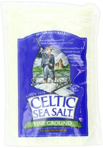 Celtic Sea Salt, Fine Ground, 16 Ounce (Himalayan Sea Salt Fine Ground compare prices)
