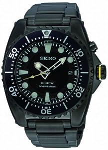 Seiko Men's Kinetic Scuba Dive Watch, Unidirectional Bezel, SKA427P1