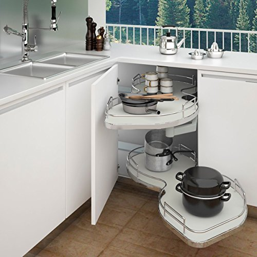 Rev-A-Shelf - 5372-50-GR-R - Two-Tier Blind Corner Shelf (Right)