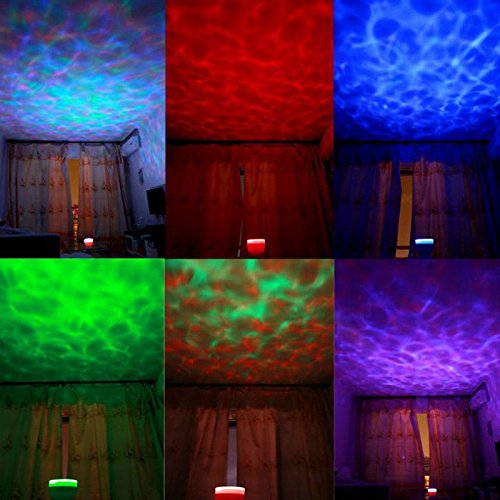 Home Partical Romantic Aurora Master 7 Colorful Led Light Ocean Wave Projector Speaker Lamp front-186002