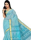 Roopkala Silks & Sarees Cotton Saree(MA-1002_Blue)