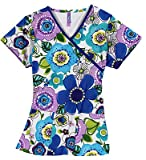 Mock Wrap Top Fresh Flowers X-SMALL