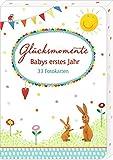 Image de Fotokarten-Box - Glücksmomente - Babys erstes Jahr: 33 Fotokarten