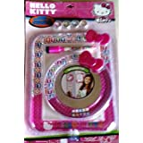 Hello Kitty Accessory Set Magnetic 4 Magnets Dry Erase Board W Pen & Mirror
