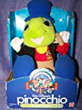 Walt Disney's Pinocchio Jiminy Cricket Plush Doll By Mattel 1992
