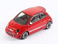 New Burago 1/43 Diecast Model Car - Fiat 500 Abarth in Red - Burago 'Street Fire' Range