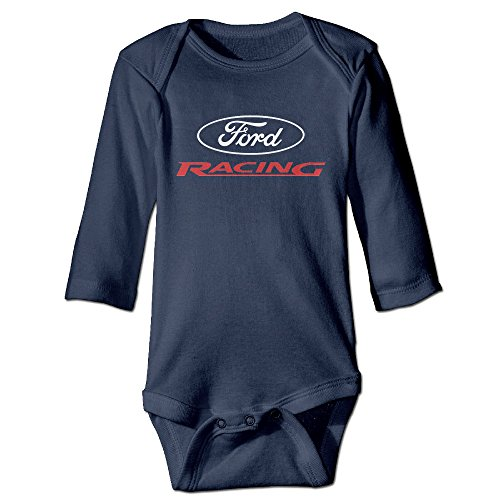 DETED Ford Racing Cute Newborn Baby Climb Romper Size18 Months Navy (Ford Edge Jacket compare prices)