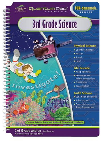 Quantum Pad Learning System: 3rd Grade Science Interactive Book and Cartridge - 1