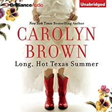 Long, Hot Texas Summer: McCabe Homecoming, Book 2 (       UNABRIDGED) by Carolyn Brown Narrated by Laural Merlington
