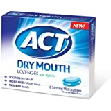 Act Total Care Dry Mouth Lozenges 18 Count Pack Of 6