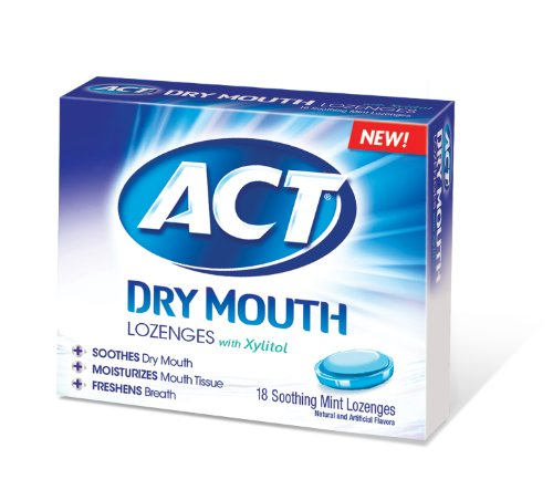 Act Mouthwash Dry Mouth >> ACT Total Care Dry Mouth Lozenges, 18 Count (Pack of 6)