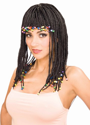 Forum Novelties Women's Beaded Corn Row Costume Wig