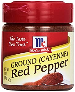 McCormick Ground Red Pepper, Cayenne, 1-Ounce Unit (Pack of 6)