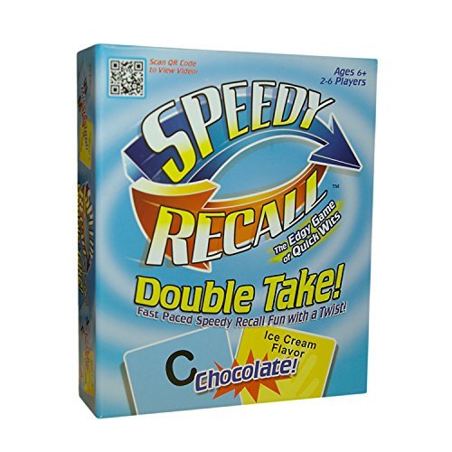 Speedy Recall - Double Take - Faced-Paced Speedy Recall with a Twist!