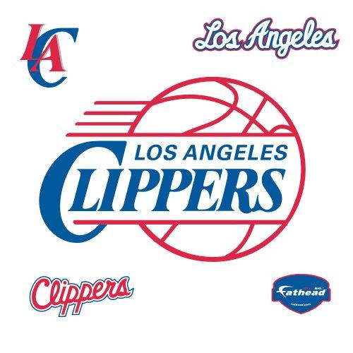 NBA Los Angeles Clippers Logo Wall Graphic Fathead Wall Pediments autotags B005HQ7F8W