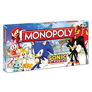 Monopoly: Sonic The Hedgehog Collector?s Edition