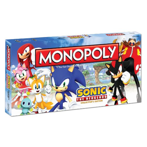 Imagen de Monopoly: Sonic The Collector s Edition Erizo