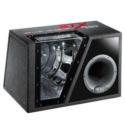Mac Audio STX 110 BP Bandpass Subwoofer 400/ 800 w 25 cm Black