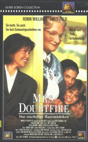 Mrs. Doubtfire - Das stachelige Hausmädchen [VHS]