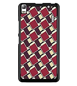 PrintDhaba Pattern D-5267 Back Case Cover for LENOVO A7000 PLUS (Multi-Coloured)