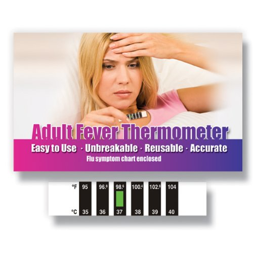 Forehead thermometer with Cold, Flu & Fever Information Pack