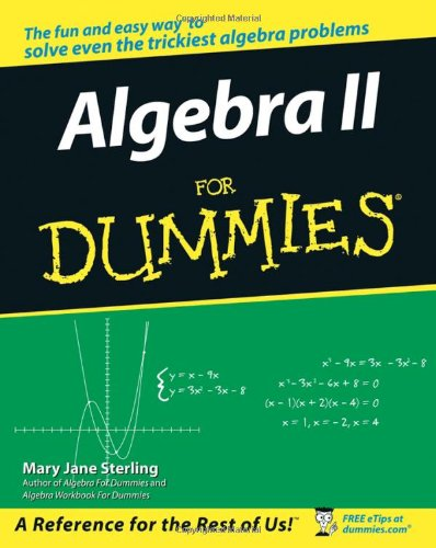 Algebra Trigonometry Books » dummies