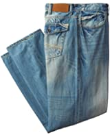 Sean John Men's Big-Tall Selvedge Flap Pocket Jean