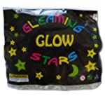 50 Glow In The Dark Plastic Stars and...