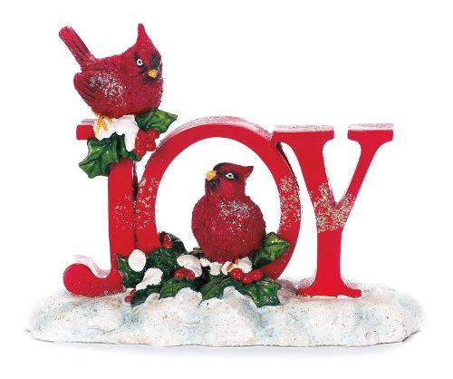 Christmas Cardinal Joy Figurine