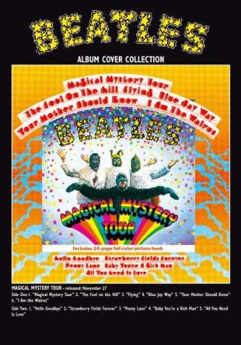 The Beatles Magical Mystery Tour Album Official Greeting Card