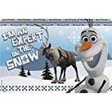Zak! Designs Placemat with Olaf & Sven from Frozen, BPA-free Plastic
