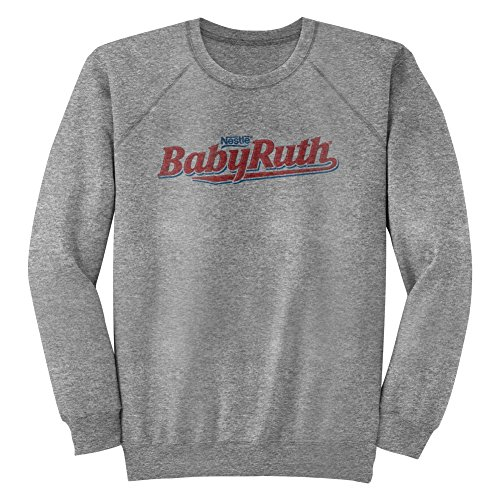 nestle-wonka-peanuts-chocolate-candy-plain-baby-ruth-logo-adult-long-sleeve-tee