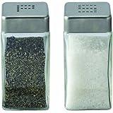 Cuisinox Salt and Pepper Shaker Set, Stainless Steel