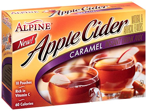 Alpine Spiced Cider, Caramel Apple, 5.7 Ounce (Pack Of 12)